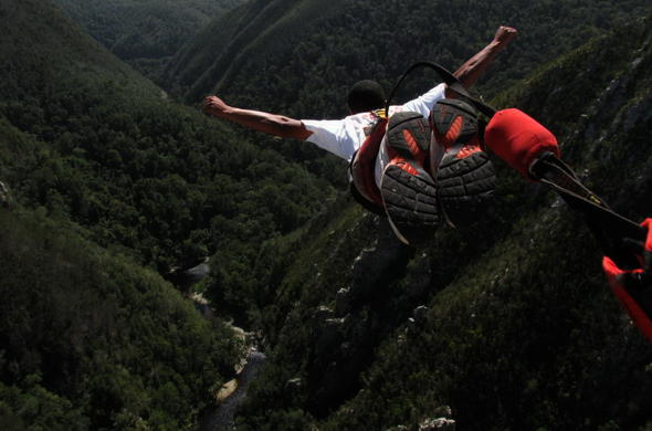 Bungee Jump in the Garden Route.