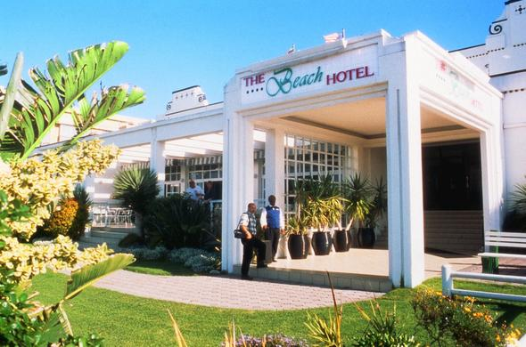 Entrance at the Beach Hotel - Port Elizabeth.