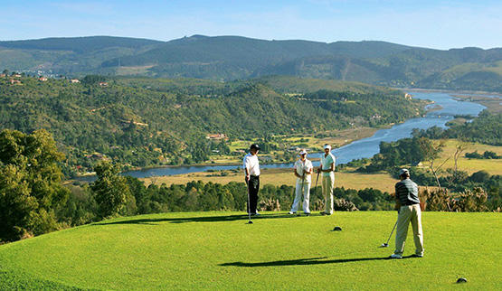 Garden Route golf hotels.
