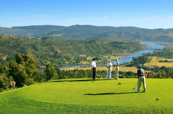 Play a round of golf at Simola Golf and Country Estate.