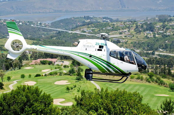 Explore on a Heli ride at Simola Golf and Country Estate.