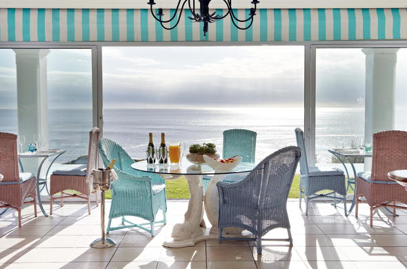 Stunning ocean views from The Plettenberg.