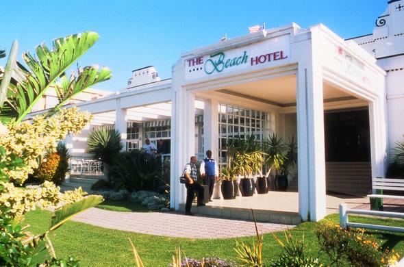 Entrance At The Beach Hotel Port Elizabeth
